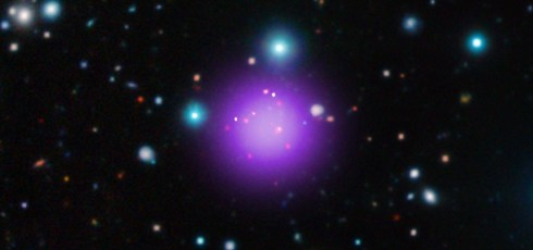 Galaxy cluster 11.1 billion light years from Earth breaks distance records