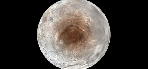 NASA discovers the cause of red spot on Pluto's moon Charon