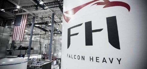 SpaceX teases its highly anticipated Falcon Heavy rocket