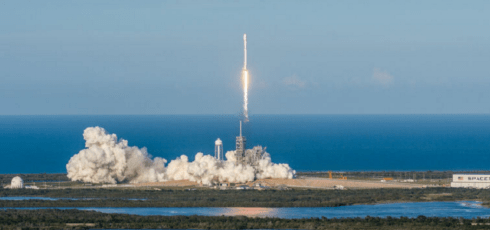 SpaceX successfully reuses a rocket to launch a satellite
