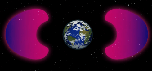 We've created a 'bubble' around the Earth