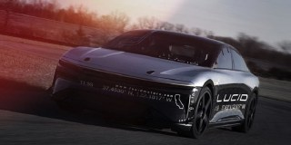 VIDEO: Watch Lucid Motors' electric car hit 235 miles per hour