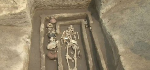 Team finds skeletons of 5,000 year old Chinese 'giants'