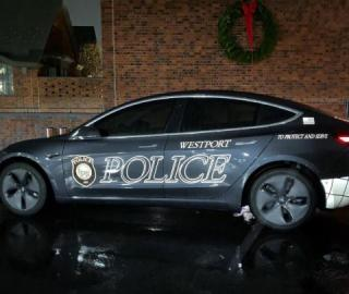 Connecticut Police Force Reports Cost Savings With Tesla Model 3