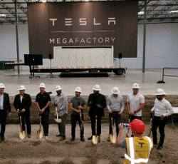 Tesla Breaks Ground on Battery Manufacturing Factory in California