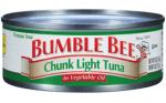 Bumble Bee Tuna Recall