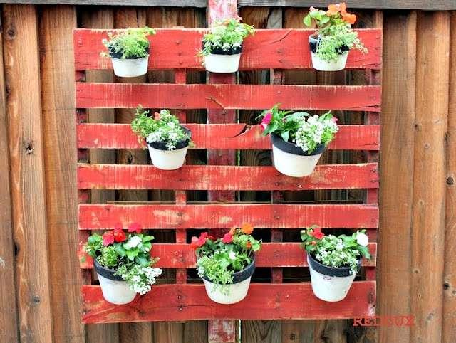 Wood Pallet Planter by Redouxinteriors