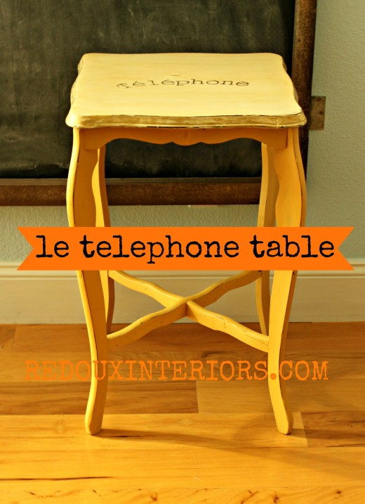 Petit Telephone Table Redoux Interiors