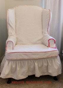 La Petite Chaise with a Slipcover!