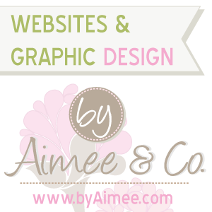 Blogeur d' Invite, By Aimee & Co. Websites and Graphic Design