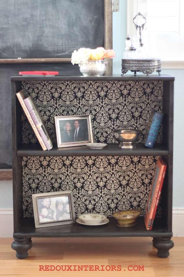 Ballard bookshelf after