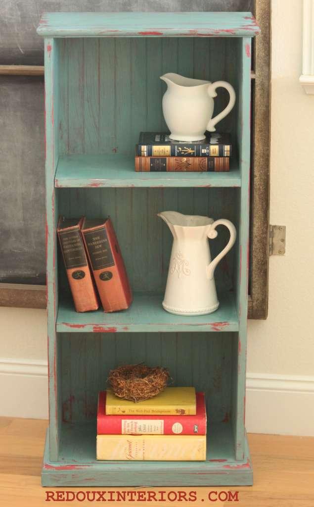 Bookshelf after 4