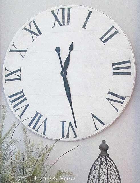 Knock off Ballard Designs Clock