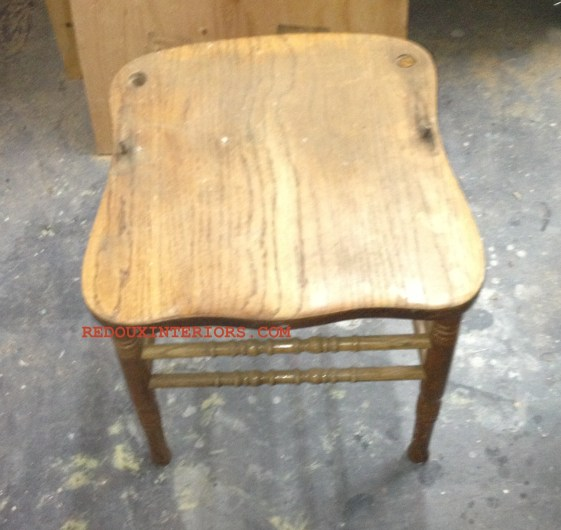 Chair without back 1