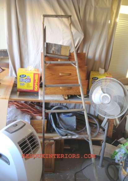 Dumpster ladder
