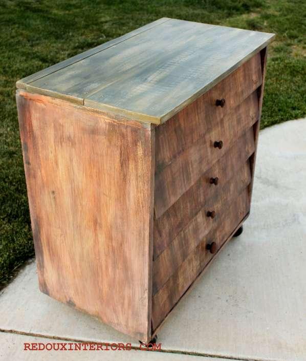 Shingle Dresser Side