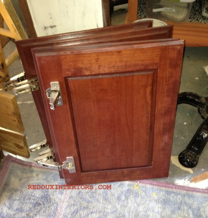 Cab doors off armoire