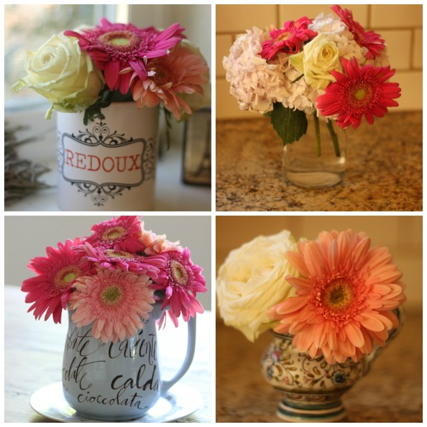 Garbage Flowers collage