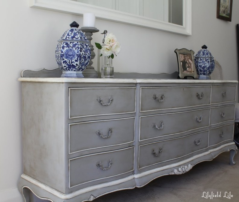 Paris Grey French Chest 009