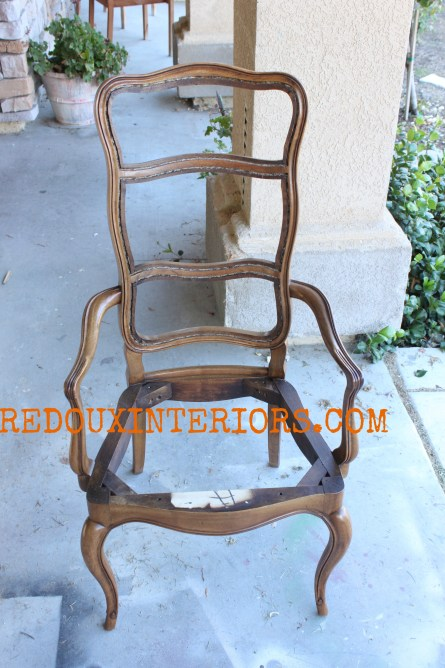 French Chair with arms