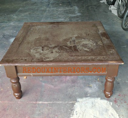 junk coffee table redouxinteriors
