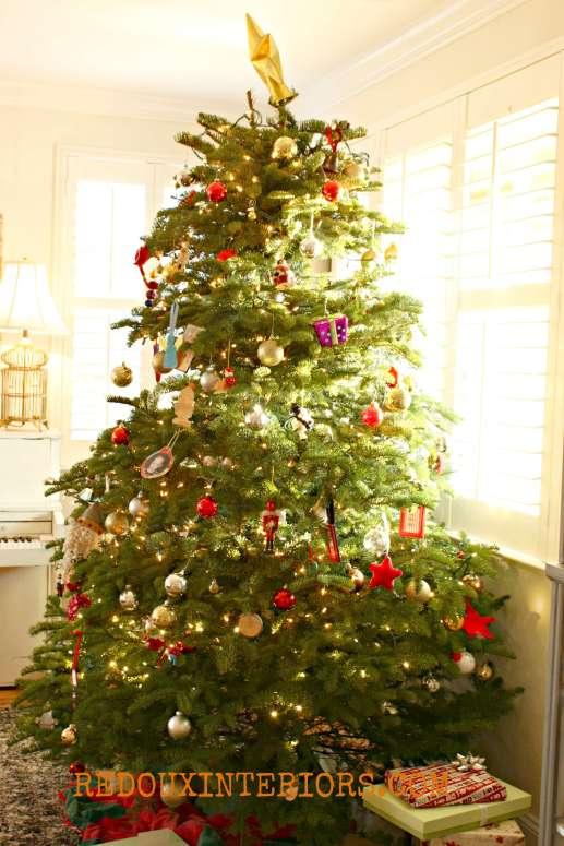 Christmas Tree Redouxinteriors