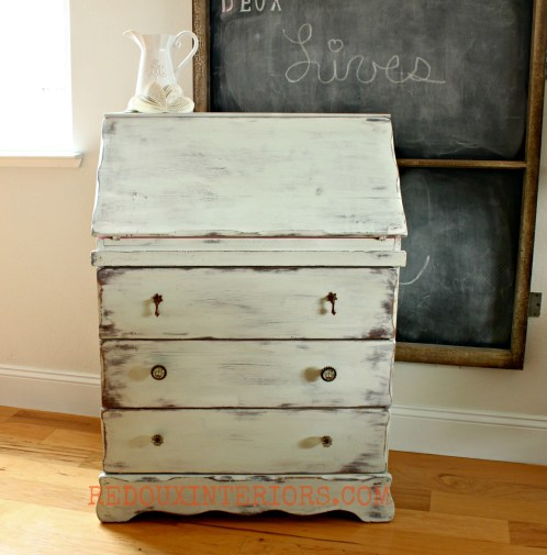 Secretary in CeCe Caldwells Nantucket Spray Redouxinteriors