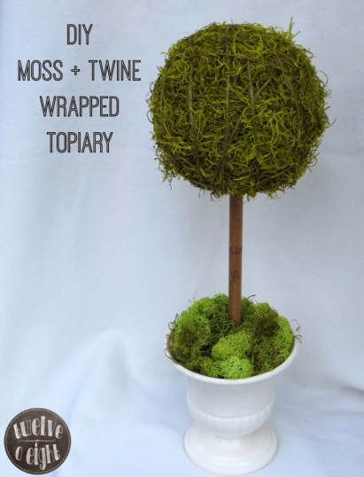 diy topiary twelve o eight