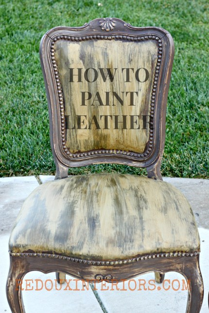 Leather Chairs Redouxinteriors