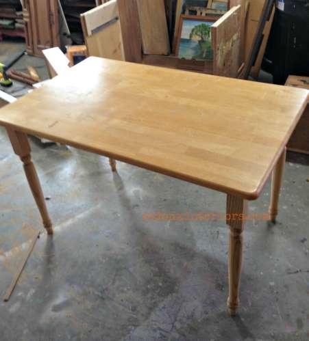 Farm Table before