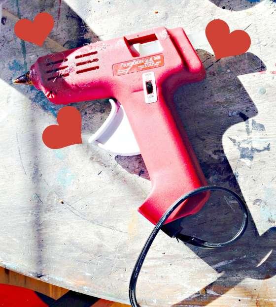 Glue gun love redouxinteriors