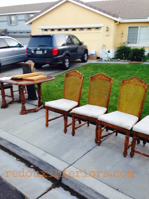Redouxinteriors Curbside Dining Chairs