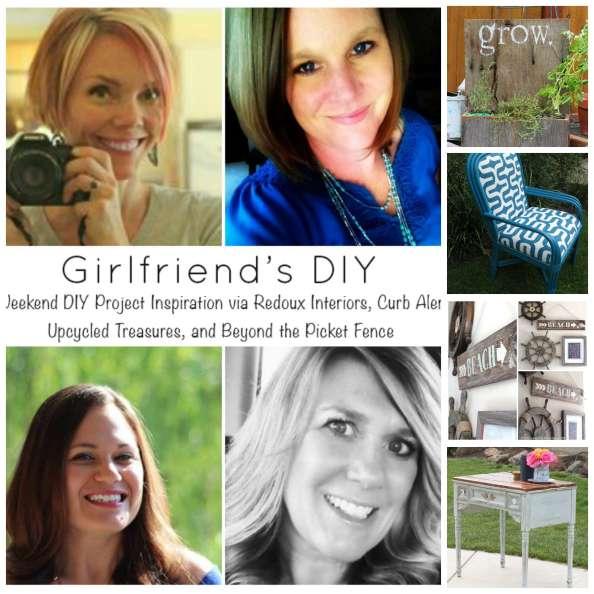 Weekend DIY Share Week 6 collage