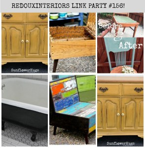 Best DIY Linky Party #156 Redouxinteriors