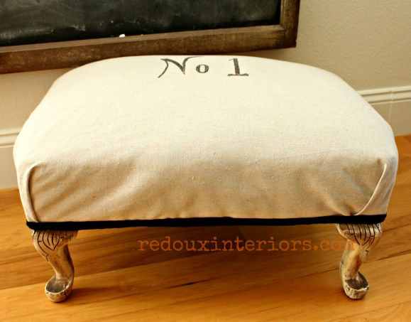 ottoman with no 1 finished redouxinteriors