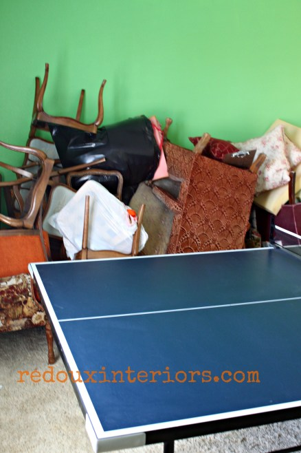 ping pong table stack of chairs redouxinteriors