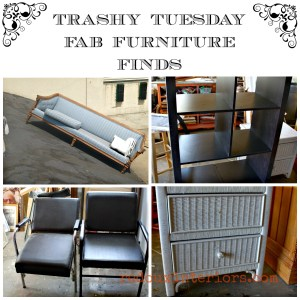Trashy Tuesday Sit Down for this Junk Post