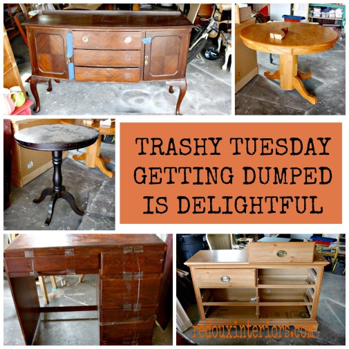 Trashy Tuesday week August 4 redouxitneriors.com