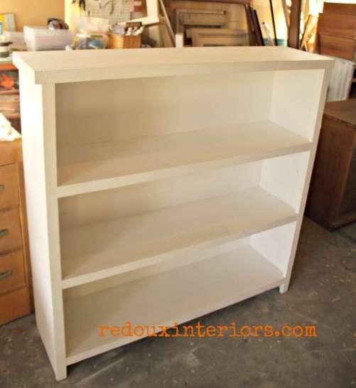 Dumpster found large bookshelf redouxinteriors