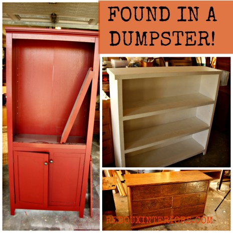 Found In A Dumpster redouxinteriors