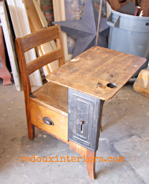 free childs antique desk redouxinteriors
