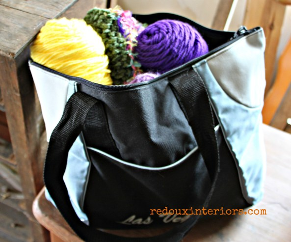 bag of yarn and knitting needles redouxinteriors.jpg