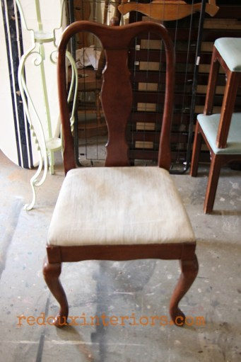 dumpster found dining chair redouxinteriors