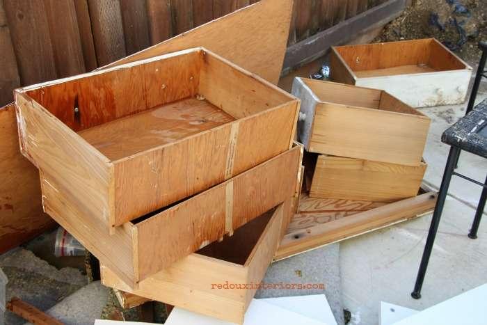 Broken Dresser parts redouxinteriors
