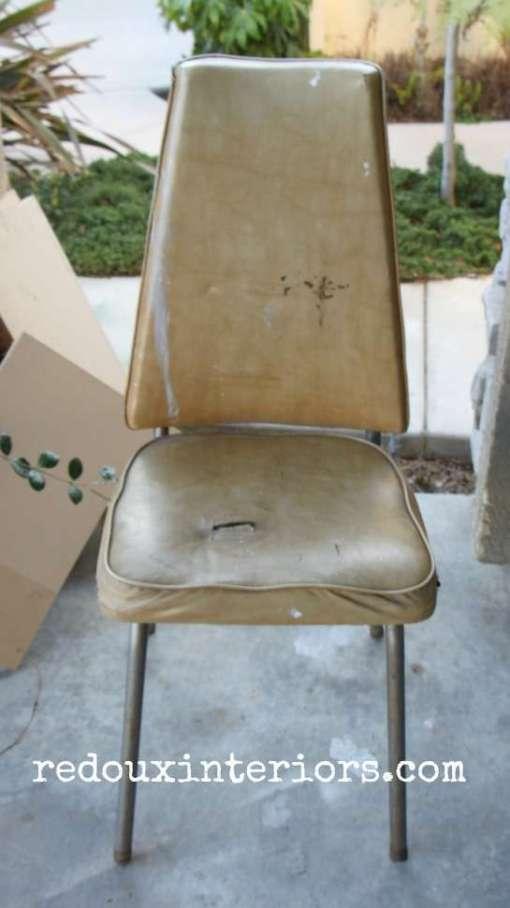 vinyl curbside chair redouxinteriors