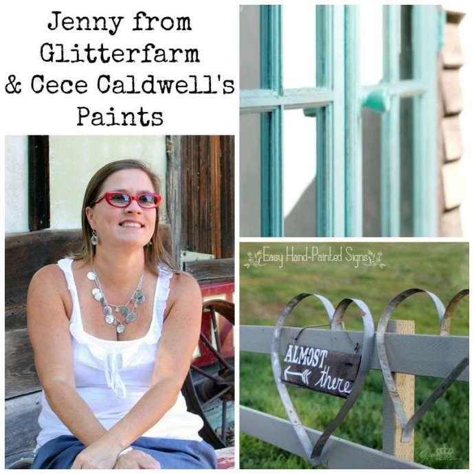 Jenny glitterfarm cece caldwells collage