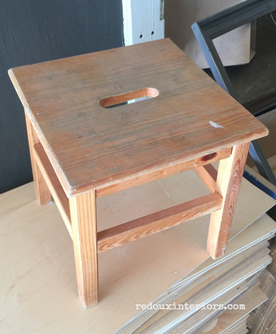 Step Stool from Dumpster