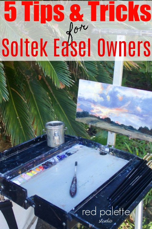 5 Tips & Tricks for Soltek Easel Owners: Wow, I'm so glad I found out about these tips. They're great! It really helps because I was having trouble with one of the legs on my easel.
