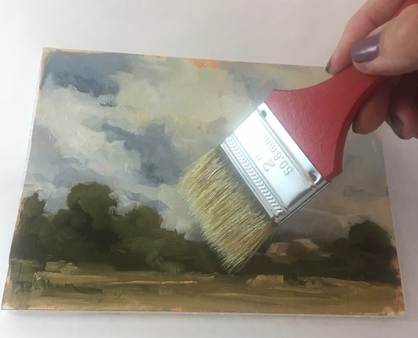 How To Varnish A Painting_ The Easy Way! This is so easy to do. I've tried other varnishes and its too complicated. This is the best way I have found to varnish my paintings!