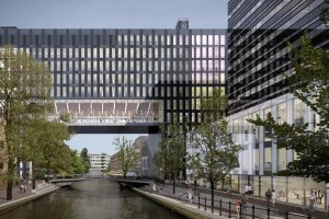 Universiteit van Amsterdam Roeterseiland. Foto: BAM Bouw & Techniek